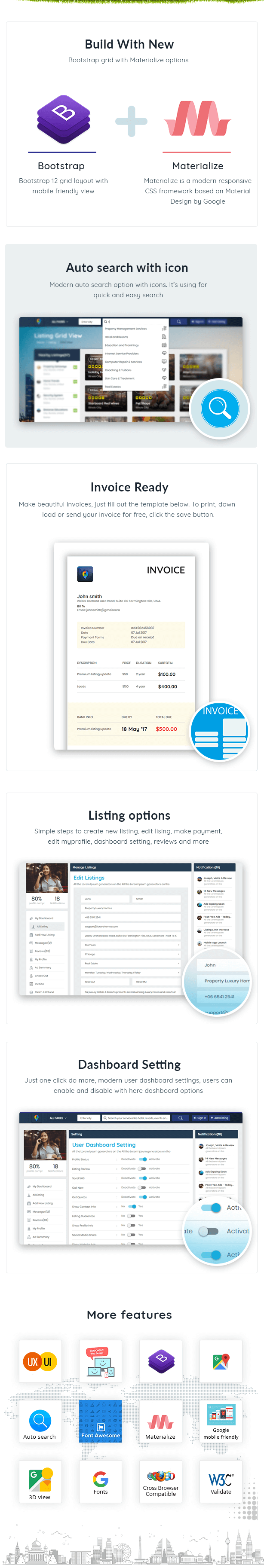 Directory & Listing Template